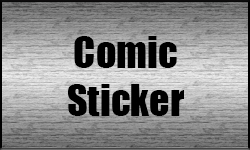 Comic Sticker