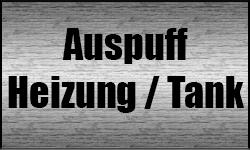 Auspuff / Heizung / Tank