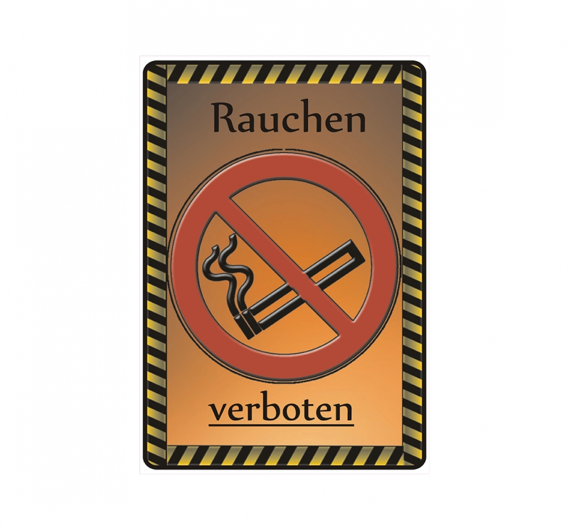 schild hinweisschild hinweis rauchen verboten no smoking. Black Bedroom Furniture Sets. Home Design Ideas