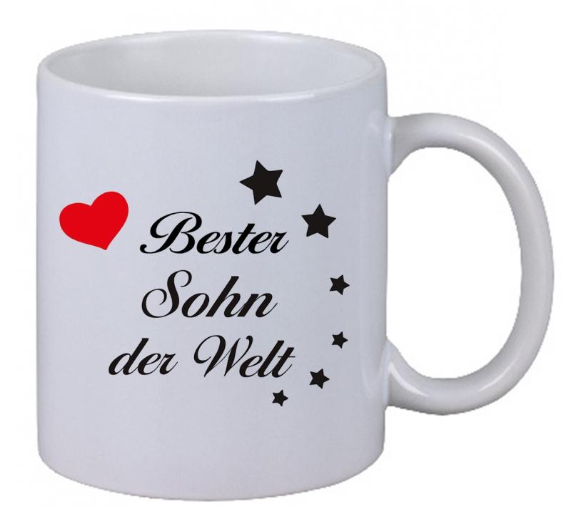 Kaffee Tasse Kaffebecher Bester Sohn Der Welt Geschenk Bruder