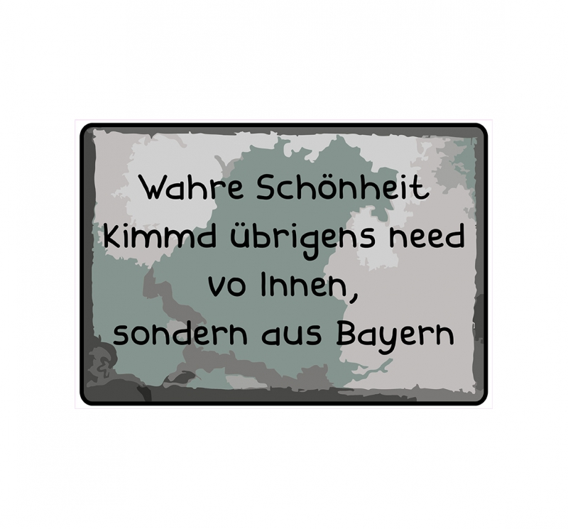 schild hinweisschild hinweis wahre sch nheit kimmd. Black Bedroom Furniture Sets. Home Design Ideas