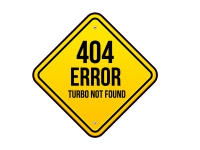 1 x Aufkleber 404 Error Turbo Not Found Warning Warnung Sticker Tuning Fun Gag