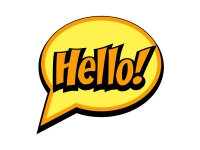 1 x Aufkleber Hello! Bang Boom Pang Spruch Comic Sticker Tuning Decal Fun Gag