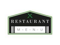 1 x Aufkleber Restaurant Menu Essen Pizzeria Menü Karte Sticker Fun Gag Decal US