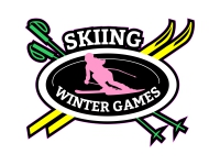 1 x Aufkleber Skiing Winter Games Wald Sport Sticker Fun Gag Ka-boom Splash FBI
