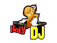 1 x Aufkleber Holy Dj Party Disco Club Sound Music People Fiesta For Ever