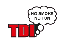 1 x Aufkleber TDI No Smoke No Fun Turbodiesel Turbo Diesel Sticker Tuning Fun
