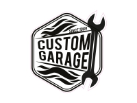 1 x Aufkleber Custom Garage Since 1989 Turbo Tuning Werkstatt Sticker JDM OEM
