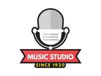 1 x Aufkleber Music Studio Since 1920 Oldies Oldie Sticker Musik Tuning Radio