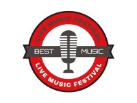 1 x Aufkleber Best Music Microphone Musik Radio Mikro Sticker Party DJ Club Fete