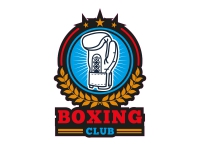 1 x Aufkleber Boxing Sticker Club Boxhandschuh Punch Exclusive Halle Verein Logo