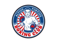 1 x Aufkleber Boxing Sticker Altius Fortius Boxing Club Logo WBC Kampf Punch