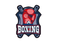 1 x Aufkleber Boxing Sticker Boxen Sport Handschuh Punch WBC Champion Heavy