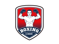 1 x Aufkleber Boxing League Liga Boxen Sport Boxer Sticker Verein Champion WBC