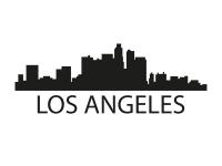 1 x 2 Plott Aufkleber Los Angeles Silouhette Sticker Tuning Autoaufkleber NEU