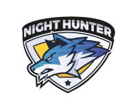 1 x Aufkleber Night Hunter Wolf Jäger Knurren Sticker Tuning Sports Sport OEM