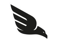 1 x 2 Plott Aufkleber Adler 6 Vogel Raubvogel Sticker Autoaufkleber Tuning NEU