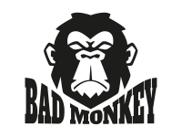 1 x 2 Plott Aufkleber Bad Monkey Böser Affe Böse Animal Sticker Tuning JDM OEM
