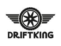 1 x 2 Plott Aufkleber Driftking Tire Special Drift King Sticker Reifen Tuning