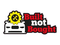 1 x Aufkleber Built Not Bought Sticker Autoaufkleber Tuning Decal Stance Turbo