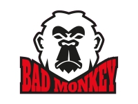 1 x Aufkleber Bad Monkey Affe Böse Angry Sticker Tuning Animal Autoaufkleber JDM