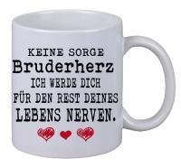 Kaffee Tasse Keine Sorge Bruderherz Weihnachten Geburtstag Geschenk