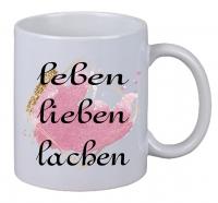 Kaffee Tasse Leben Lieben Lachen Weihnachten Geburtstag Geschenk