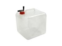 10L Wasserkanister Faltkanister faltbar lebensmittelecht inklusive Sperrhahn