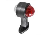 Umrissleuchte Begrenzungsleuchte Positionsleuchte Rot / Weiß 120 mm Gerade Lampe
