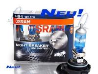 OSRAM 2 Stück HB4 12V 51W P22d Night Breaker UNLIMITED Mehr Licht