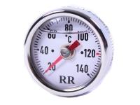 RR - Ölthermometer oiltemperature gauge Kawasaki 650 W 1/2/3 Baujahr 1966-1975