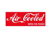 1 x Aufkleber Air Cooled Sticker Kleber DUB VAG JDM Oldschool Auto Tuning Bus