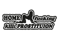 1 x 2 Plott Aufkleber Home Fucking Kills Prostituion Sexy Tuning Sticker Shocker