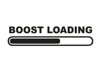 1 x 2 Plott Aufkleber Boost Loading Load Sticker Tuning Autoaufkleber Shocker
