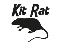 1 x 2 Plott Aufkleber Kit Rat Ratte Rat VW Ratte Ratten I Love Tuning Sticker