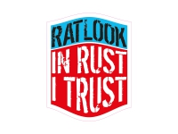 1 x Aufkleber Ratlook In Rust I Trust Rat Look Ratte Sticker Shocker Tuning Fun