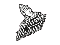 1 x  Aufkleber In Turbo we Trust Autoaufkleber Jesus Shocker Sticker Fun Gag Dub