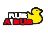 1 x  Aufkleber Rub A Dub Duck Ente Sticker Autoaufkleber Tuning Fun Shocker Gag