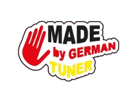 1 x  Aufkleber Made By German Tuner Tuning Deutsch Germany Sticker Shocker Fun