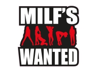 1 x  Aufkleber Milf's Wanted Sexy Gogo Sticker Autoaufkleber Tuning Shocker Fun
