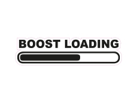 1 x Aufkleber Boost Loading Turbolader Sticker Shocker Turbo Tuning OEM Fun Gag
