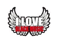 1 x Aufkleber I Love Black Music Sticker DJ Disco Club Musik House Tuning Fun