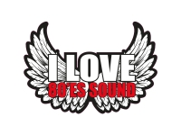 1 x Aufkleber I Love 80'es Sound Music Sticker DJ Disco Club Musik Tuning Fun