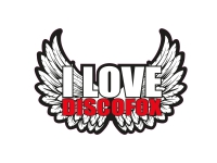 1 x Aufkleber I Love Discofox Sound Music Sticker DJ Disco Club Musik Tuning Fun