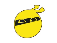 1 x Aufkleber Ninja Smiley Smile Karate Boxen Sticker Tuning Shocker Dub Fun Gag