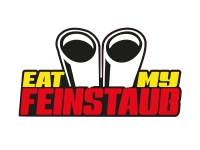 1 x Aufkleber Eat My Feinstaub Auspuff Turbo Tuning Static Shocker Sticker Fun