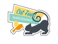 1 x Aufkleber Cat Food Quality Assurance Sticker Decal Static Stance Shocker Fun