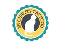 1 x Aufkleber 100% Quality Cat Food Katze Katzenfutter Futter Sticker Fun Gag