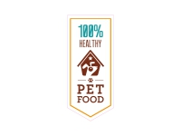 1 x Aufkleber 100% Healthy Pet Food House Haus Futter Sticker Decal Fun Gag